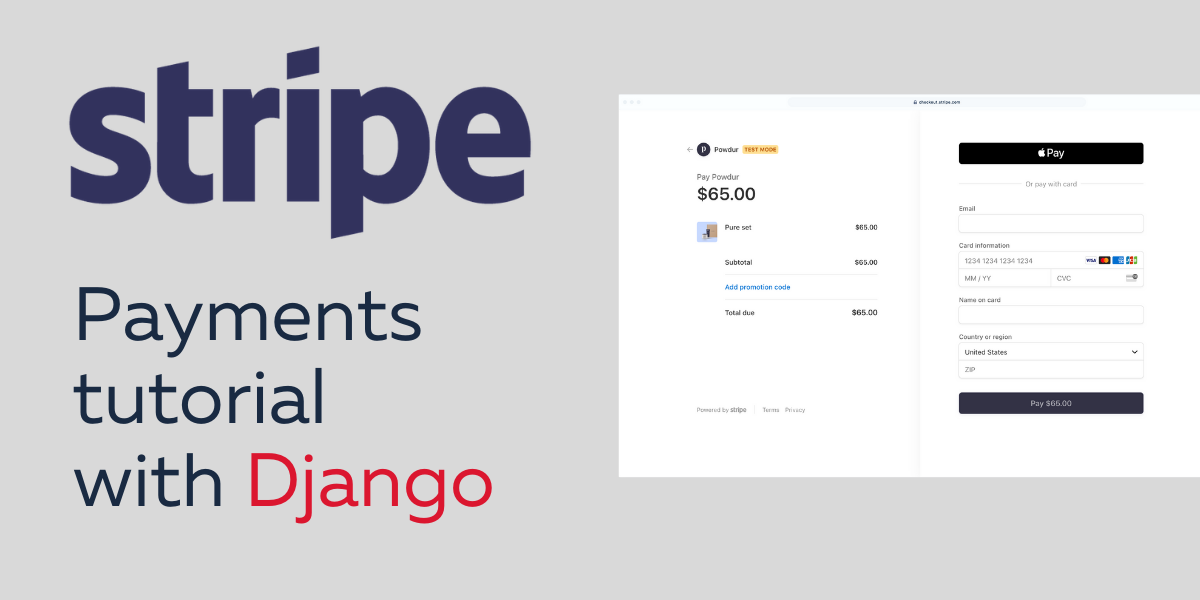 Django and Stripe Payments Tutorial